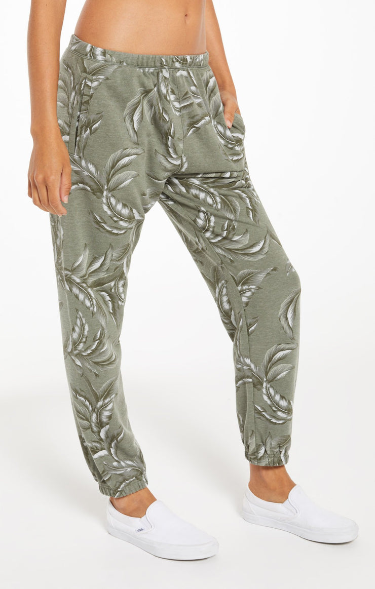 Z Supply TIRA PALM JOGGER in Agave Green - Whim BTQ