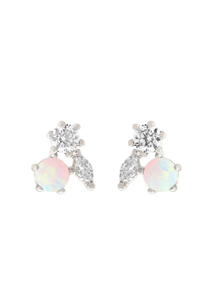 Girls Crew Mila Post Earrings in Silver - Whim BTQ