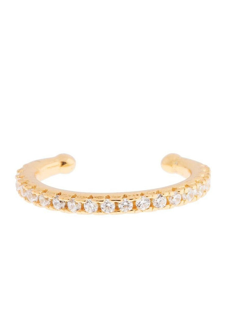 Girls Crew Sparkle Ear Cuff in Gold