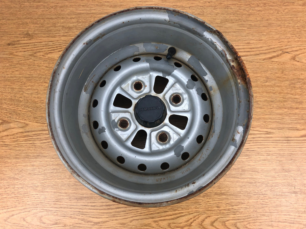 1995-2000 Honda Foreman 400 Rear Rim Wheel 11x7.5 4/110
