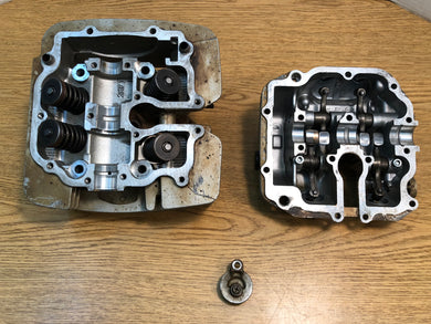 1998-2001 Yamaha Grizzly 600 4x4 Cylinder Head Assembly