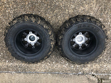 "Set of Polaris 12"" Stock RZR 800 Wheels and Maxxis Tires"