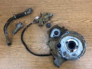 2000-2002 Yamaha Kodiak 400 4x4 Stator Cover Water Pump