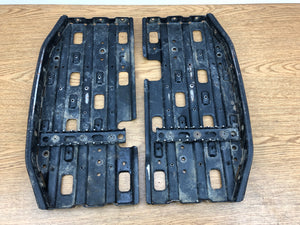 2000-2004 Polaris Trailblazer 250 Trail Blazer 250 OEM Foot Pads Foot Pegs Boards