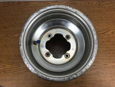 Yamaha Raptor 250 350 660 700 Warrior YFZ450 Banshee Rear Rim Wheel 9x8.5 #5