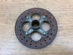1987-2004 Kawasaki Lakota Sport 300 KLF300 Mojave 250 Rear Brake Hub Disc Holder