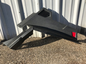 2011-2014 Polaris RZR 900 XP 4 Left Front Fender Flair Box Panel Black