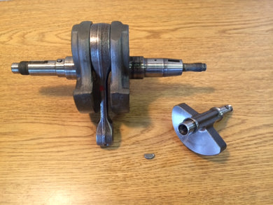 03-13 Suzuki LTZ400 KFX400 DVX400 Crank Crankshaft with Counter Balancer & Pins