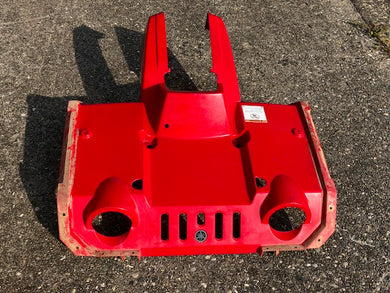 1999-2001 Yamaha Grizzly 600 4x4 Front Fender Plastic Hood Red