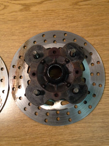 1999-2001 Yamaha Grizzly 600 4x4 Front Right Wheel Hub Rotor #3