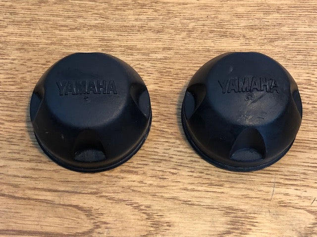 2000-2006 Yamaha Kodiak 400 4x4 OEM Wheel Hub Caps Front Rear #2