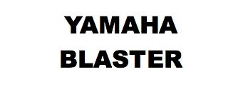 Additional Yamaha Blaster Parts