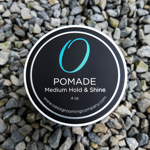 Pomade - Medium Hold & Shine - 4 oz.