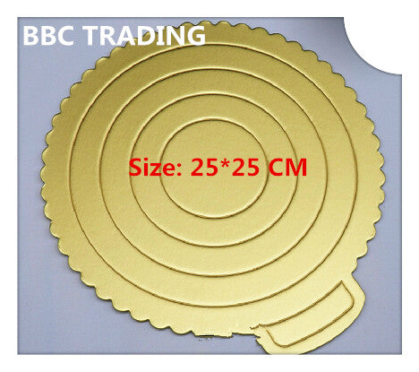 Good Quality Holding Cake Board: Size 25*25 cm, 8