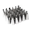 35 Stainless Steel Icing Piping Nozzles Set DIY Cake Decorating Tips - cake decorations ideas