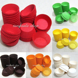 600pcs  Muffin Cupcake Baking Cups Cases Paper Liners Cake 6 Colors 1.5 inch - cake decorations ideas