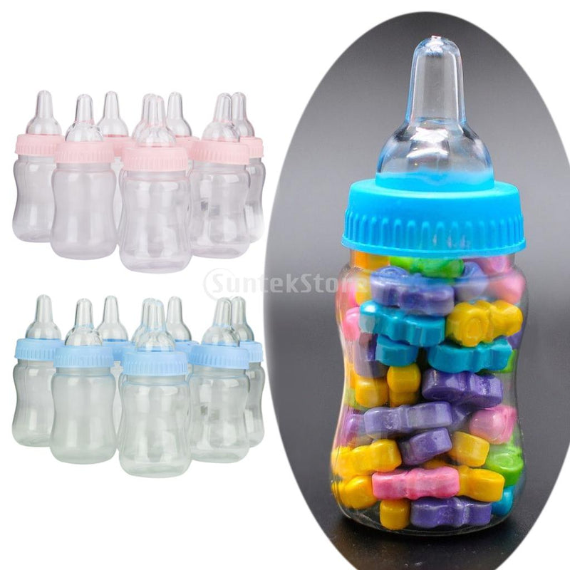 Small Feeding Bottle Christening Baby Shower Favors Party Decor 12pcs - cake decorations ideas