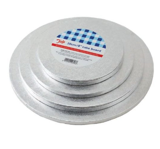 Round Sliver Cake Board For Presenting Decorated Cakes Moving Plate Turntables Baking Tools 6inch 8inch 10inch 12inch 4pcs/set - cake decorations ideas