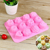Silicone 3D Chocolate Soap Mold Cake Candy Baking Mould Baking Pan Tray Molds - cake decorations ideas