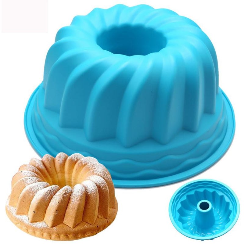 Practical Silicone Ring Shaped Cake Pastry Bread Mold Mould Kitchenware - cake decorations ideas