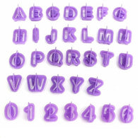 40Pcs Alphabet Letter Number Fondant Cake Biscuit Baking Mould Cookie Cutters - cake decorations ideas