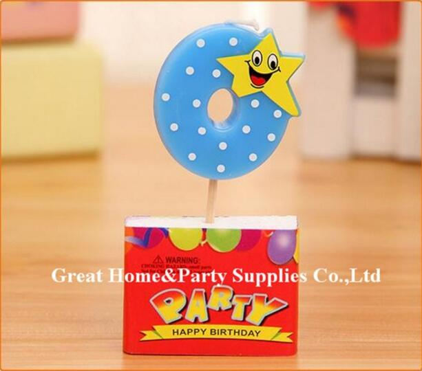 Bowknot Number Cake Candles Cartoon Boy Girl Kid's Birthday Cake/Cupcake Toppers Party Birthday Candle Party Supplies - cake decorations ideas