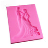 FREE Sugarcraft Wedding Silicone Mold Fondant Mold Cake Decorating Tools Chocolate - cake decorations ideas