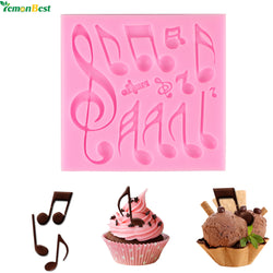 Multi Music Note Lace Silicone Chocolate Mold Mould Fondant Mat Cake Decorating Tool - cake decorations ideas