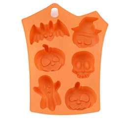 Halloween Silicone 6 Pumpkins Cake Chocolate Fondant Candy Mold Mould Baking Mold - cake decorations ideas