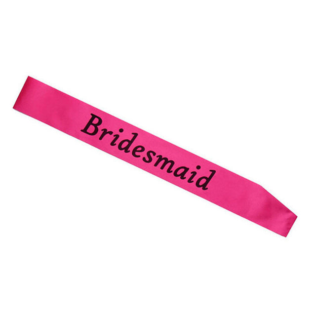 4 Hen Party Sash Pink Girls Do Night Out Party Wedding Bride To Be Accessories