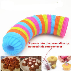 Doughnut Shape 3D Cake Cup Silicone Cupcake Mold Baking Tools Cake Decorating Tools For Bakeware - cake decorations ideas