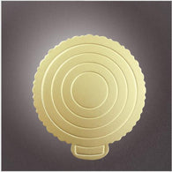 10pcs/lot  Creative fashion Round golden cardboard 6~10inch cake tray utility baking paper baking tools - cake decorations ideas