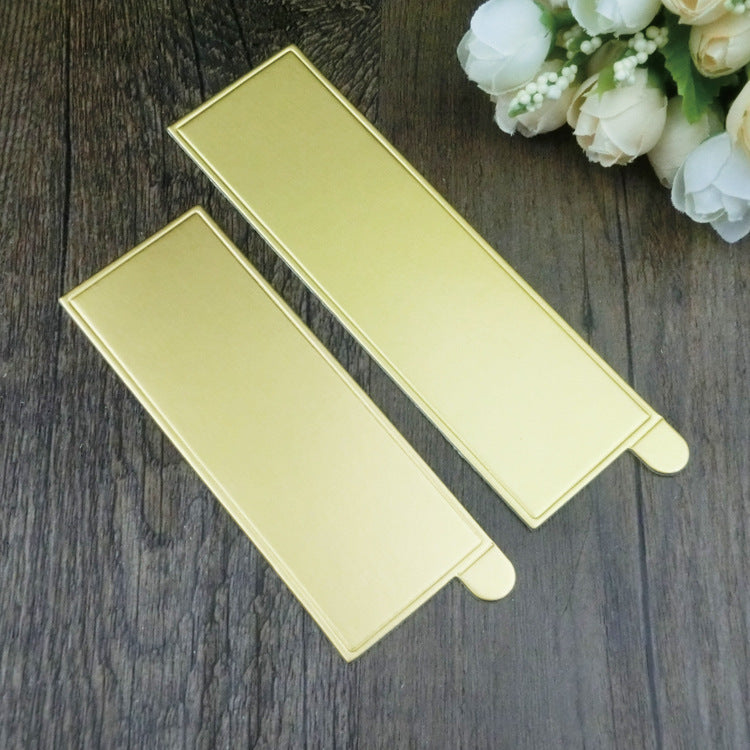 100pcs/lot  Creative fashion mousse cake golden cardboard 10.5cm~13cm cake tray utility baking paper baking tools - cake decorations ideas