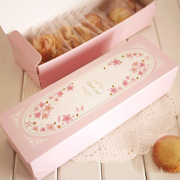 New 21.5*6.8*4cm 10pcs Macarons Pink Cake Macaron Chocolate Kraft Paper Box Christmas Birthday Party Gifts Packaging Baby Show - cake decorations ideas