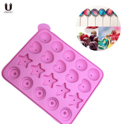 Uarter Silicone Cake Pop Mold Candy Mold Lollipop Mold with Four Pattern, Ideal for Cake Pop, Hard Candy - cake decorations ideas