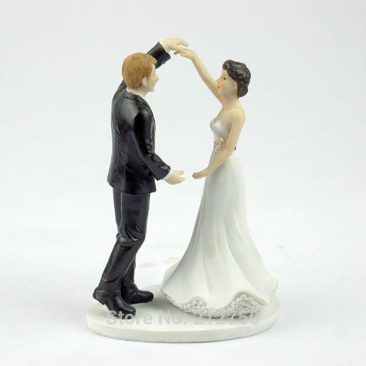 romantic bride and groom dancing wedding cake topper event party supplies - cake decorations ideas