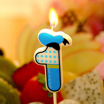 Birthday Number Candles Cartoon minnie Donald Duck Candle Cake Cupcake Topper Party Birthday Cake Candle Party Decoration Supply - cake decorations ideas