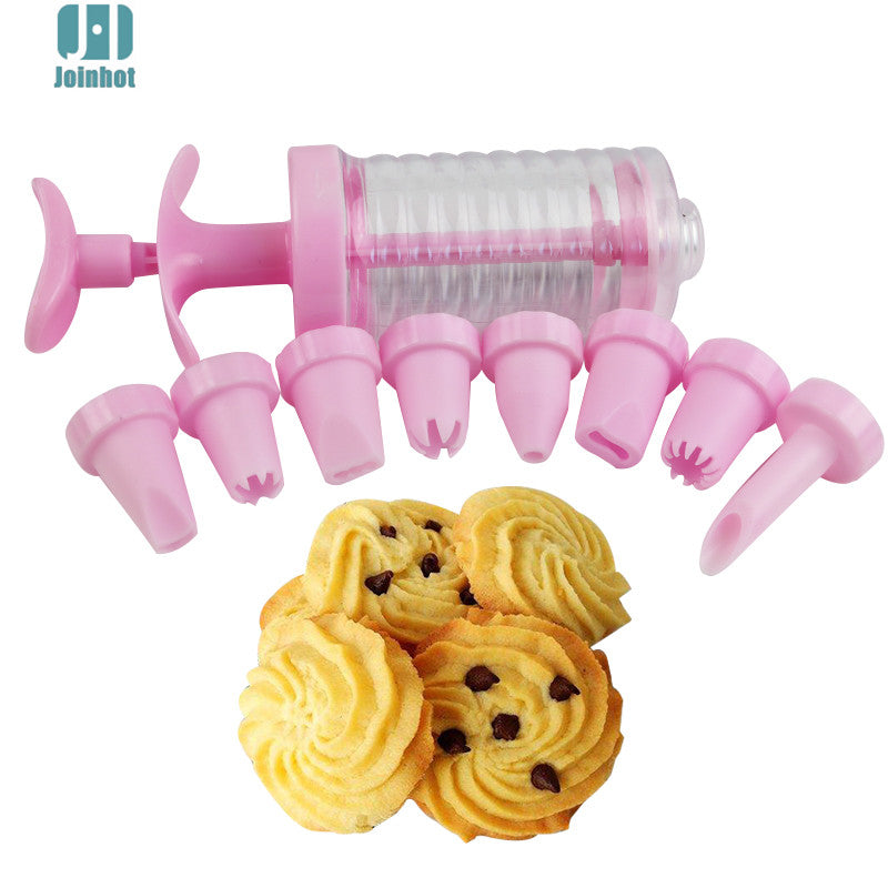 FREE 1 set Cake Decoration Set Plastic 8 Cake Nozzles Icing Syringe - cake decorations ideas
