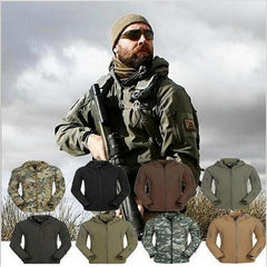Shark Skin Soft Shell Military Tactical Waterproof Jacket
