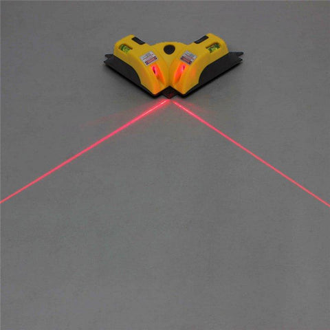 Laser Levels - Right Angle Laser Line Projection Square Level