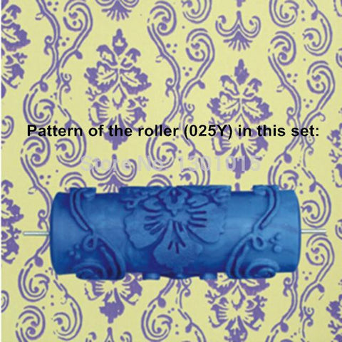 Paint Tool Sets - Patterned Paint Roller Kit
