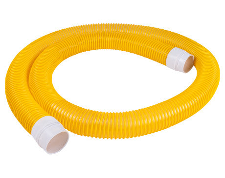 "Lightweight Vacuum Hose Assembly - 4"" ID X 15 ft"