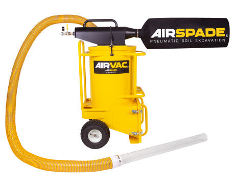 "AirVac 165 cfm with 4"" Vacuum Hose"