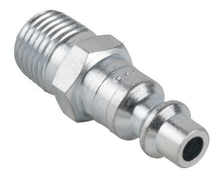 "1/4"" Industrial Interchange Plug - 1/4"" MNPT"
