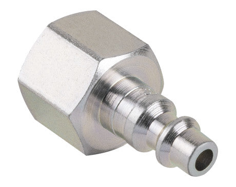 "1/4"" Industrial Interchange Plug - 3/8"" FNPT"