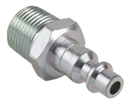 "1/4"" Industrial Interchange Plug - 3/8"" MNPT"