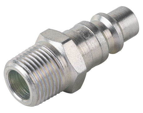 "3/8"" Industrial Interchange Plug - 3/8"" MNPT"