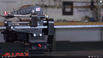 Watch the Motorized M3 Rotary-Style Gasket Cutter