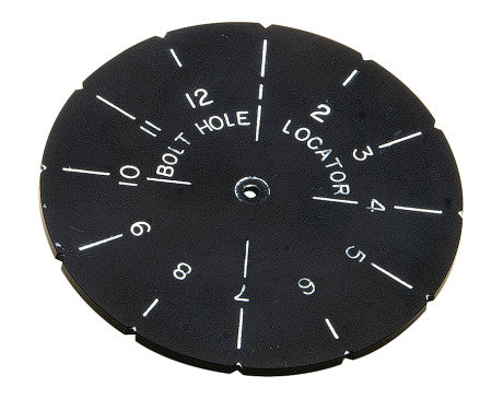 Bolt Hole Locator Template