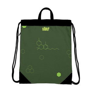 THC Molecular Structure - Drawstring Bag - Herban Apparel